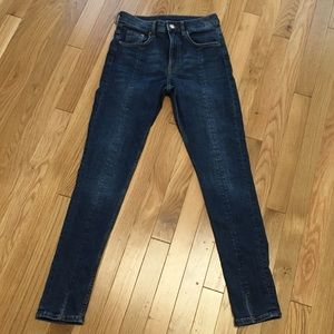 H&M Front seam jeans in size 27
